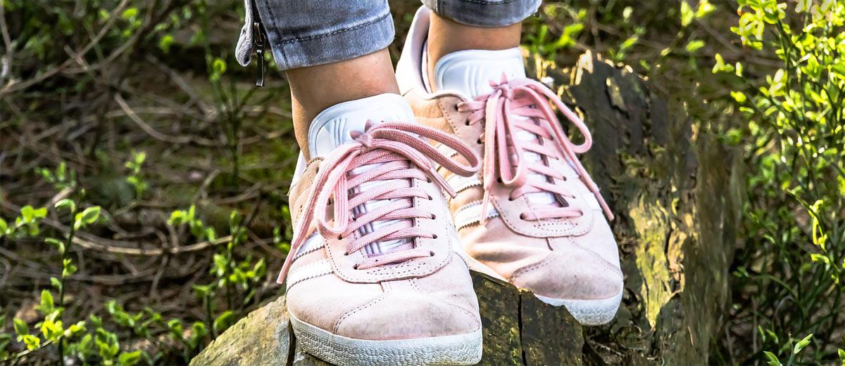 Schuhe reinigen bei fusspilz